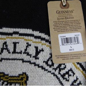 Lucky Brand Sweaters - Guinness Stout Irish Beer Lucky Brand Knit Sweater